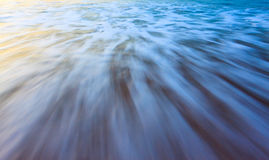 Long exposure waves Royalty Free Stock Photo