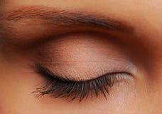 Long eyelash Royalty Free Stock Photos