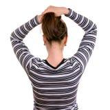 Long Female Hair Stock Image