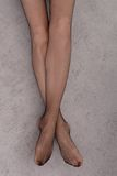 Long female legs Stock Photography
