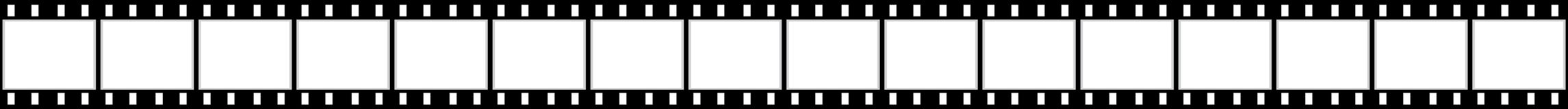 Long film strip. Illustration of a long film strip Royalty Free Stock Images