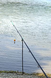 A long fishing rod Royalty Free Stock Images