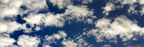 Long Floating Clouds Royalty Free Stock Photography
