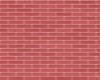 Long fond de brique rouge Images libres de droits