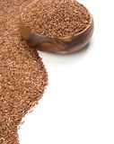 Long-grain red rice Stock Images