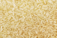 Long grain rice. Background of parboiled long grain rice Stock Image