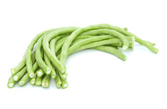 Long green beans. Royalty Free Stock Photo