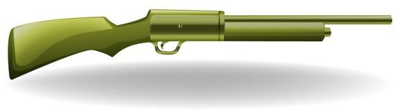 Long gun. Close up plain design of long gun Stock Photos