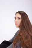 Long hair Royalty Free Stock Photo