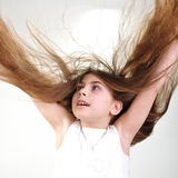 Long hair Stock Images