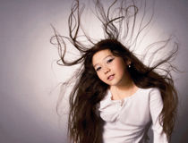 Long hair Royalty Free Stock Photos