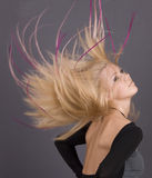 Long hair Royalty Free Stock Image