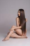 Long hair beauty. royalty free stock photos