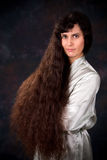 Long Hair Middle East Woman Stock Photos