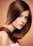 Long hair model Royalty Free Stock Image