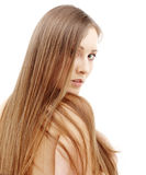 Long hair Royalty Free Stock Photo