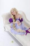 Long hair princess Royalty Free Stock Photography