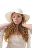 Long hair - young girl Royalty Free Stock Photos