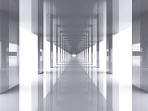 Long hall Stock Photo