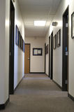 Long Hall. A long office hallway Royalty Free Stock Photography
