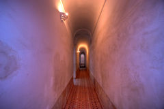 Long hallway Royalty Free Stock Photo