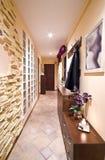 Long hallway. A long hallway of a house Royalty Free Stock Photo