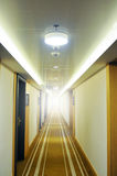 Long hallway Royalty Free Stock Images