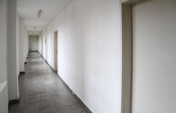 A long hallway Stock Photography