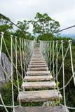 Long hanging bridge Stock Image
