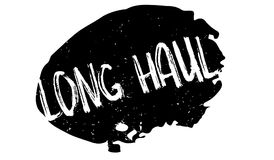 Long Haul rubber stamp Stock Photo