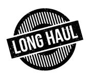 Long Haul rubber stamp Royalty Free Stock Photography