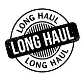 Long Haul rubber stamp Stock Photography