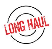 Long Haul rubber stamp Stock Photos