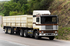 Long Haul Transport - Oversized Goods in Transit Stock Images