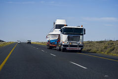 Long Haul Transportation - Abnormal Load Stock Photography
