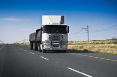 Long Haul Transportation - Heavy Duty Royalty Free Stock Image