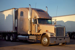 Long Haul Trucking Stock Image