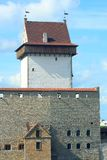 Long Hermann tower in the Narva Castle Royalty Free Stock Photo