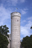 Long hermann tower Toomplea castle Stock Photo
