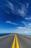 Long Highway Stock Photo
