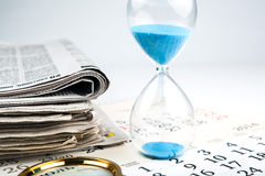 Long hours of search Royalty Free Stock Photo