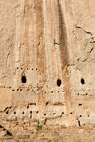 Long House, Bandelier National Monument. Cliff Dwellings at Bandelier National Monument, NM Stock Photography