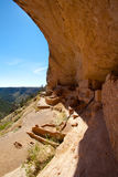 Long House in Mesa Verde National Park, Colorado Stock Image