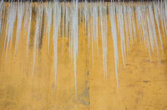 Long Icicles Royalty Free Stock Photo
