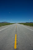 Long Idaho Highway Stock Photo