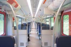 Long intérieur de train Photographie stock libre de droits