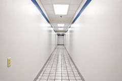 Long Intimidating Hallway Royalty Free Stock Photos