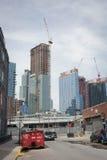 Long island city construction Stock Photos