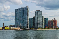 Long Island City High Rises Royalty Free Stock Photos