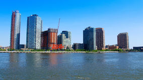 Long Island City. (L.I.C.) is the westernmost residential and commercial neighborhood of the New York City borough of Queens. L.I.C. is notable for its rapid Royalty Free Stock Photography